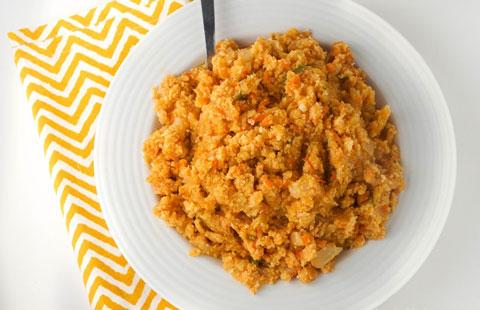 low calorie rice