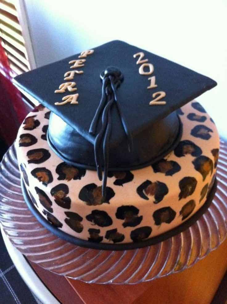 کیک جشن فار التحصیلی