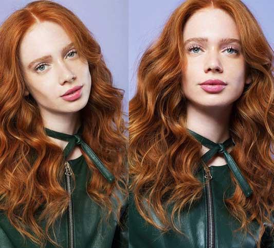 مدل موی مجعد و جدید 2015