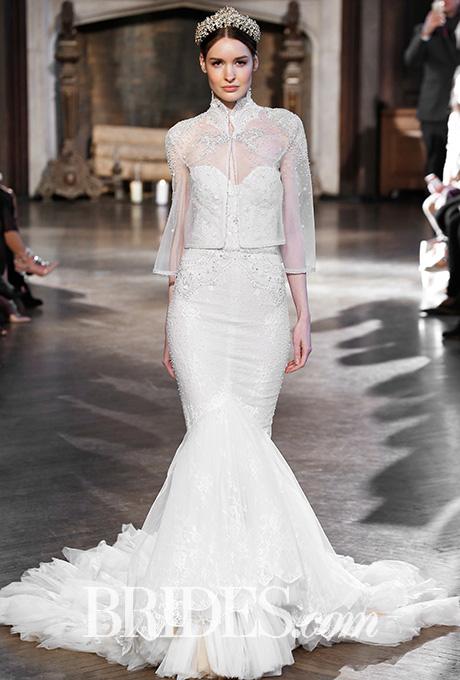 نمونه های انتخابی جشن نامه از لباس عروس های استین بلند