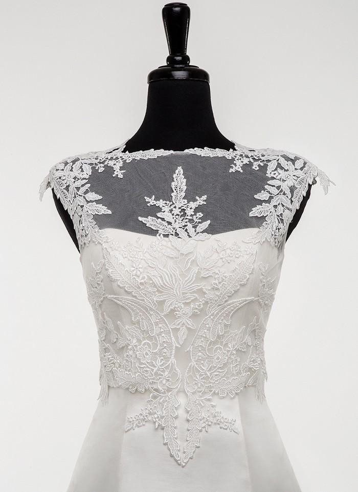 مدل برای پوشاندن بالا تنه لباس عروس