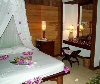 یک اتاق خواب رمانتیک