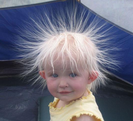 جدید ترین و بهترین راه برای از بین بردن الکتریسیته مو