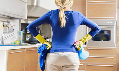 راهنمای خانم های تنبل برای تمیز کردن خانه