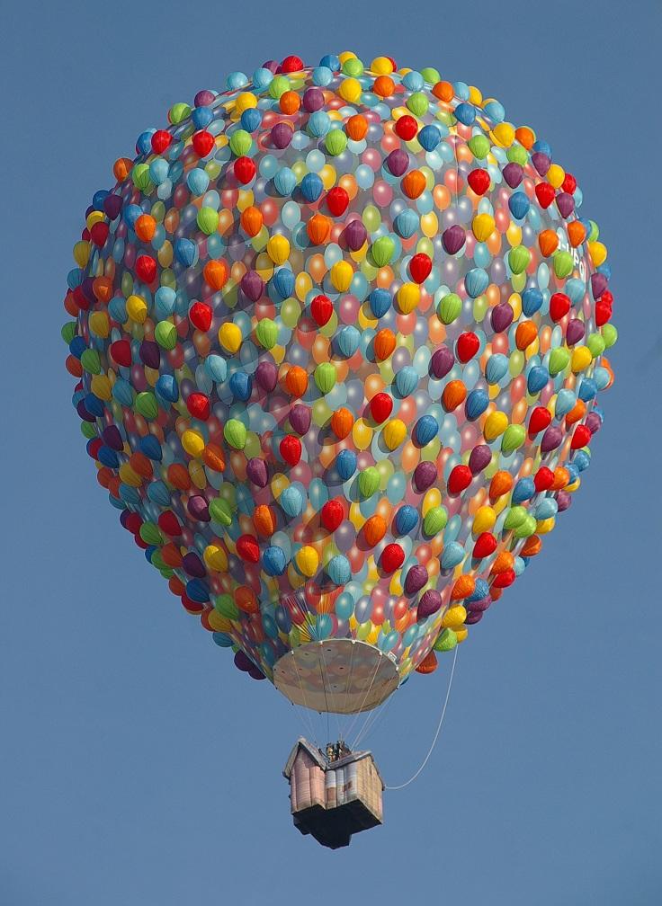 بزرگترین جشنواره بالن در اسپانیا