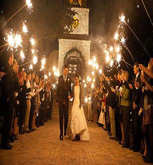 چگونه در مراسم عروسی خود آتش بازی داشته باشیم