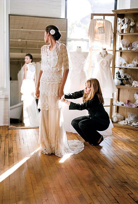 در خرید لباس عروس ،راحتی بسیار مهمه