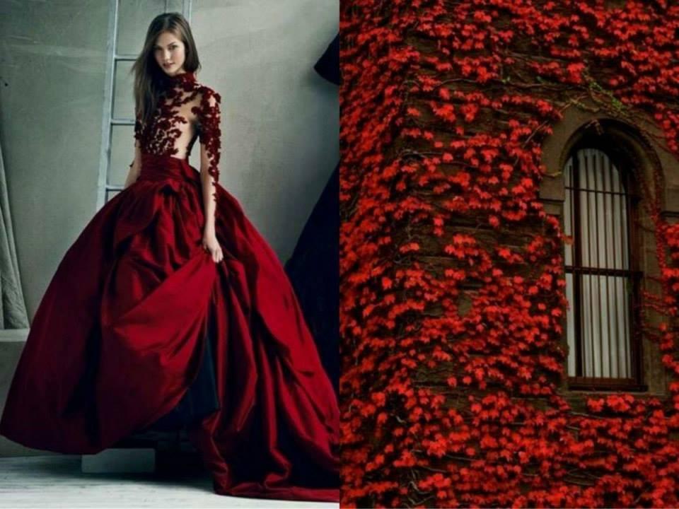 ایده طراحان لباس از طبیعت بسیار زیبا