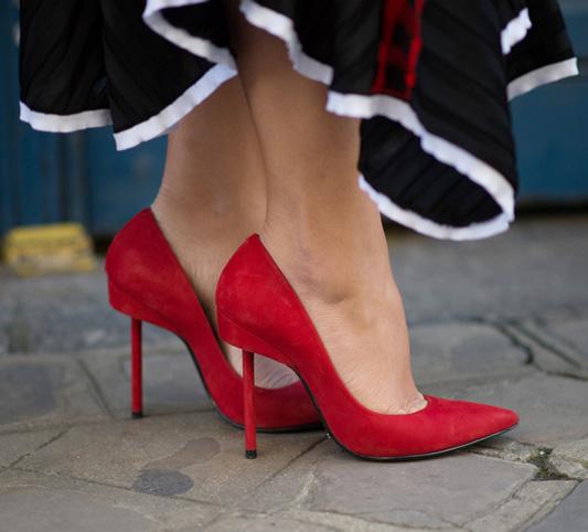 بهترین اندازه برای بلندی پاشنه کفش