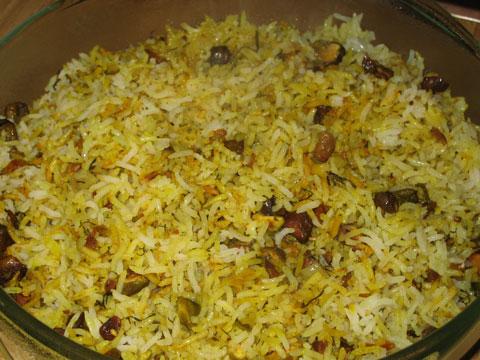 برنج کم کالری | طرز تهیه