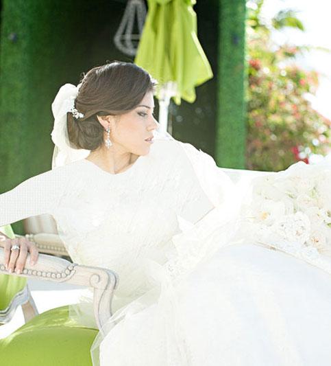 بهترین های مدل موی عروس 2015