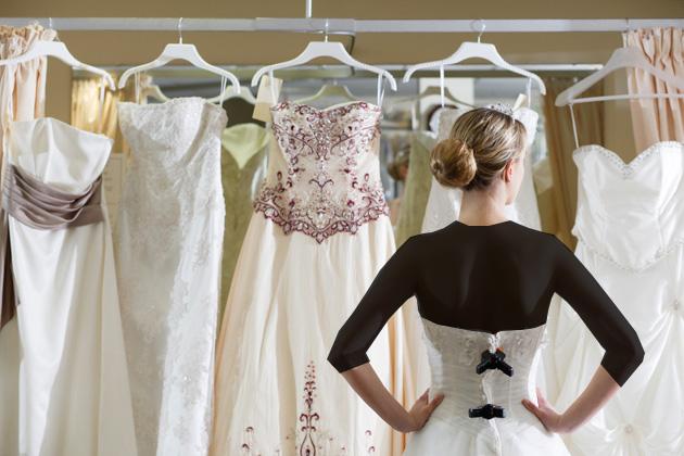 انتخاب رنگ لباس عروس با توجه به رنگ پوست شما