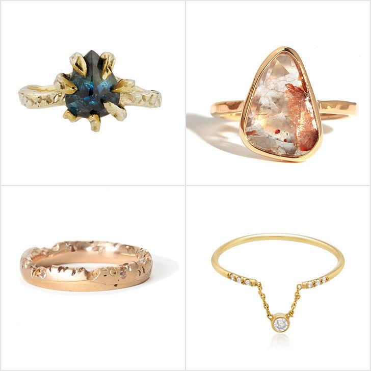 چند نمونه از مدلهای انگشتر های نامزدی