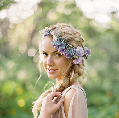 مدل های جدید بافت مو ،مناسب برای عروس خانم ها