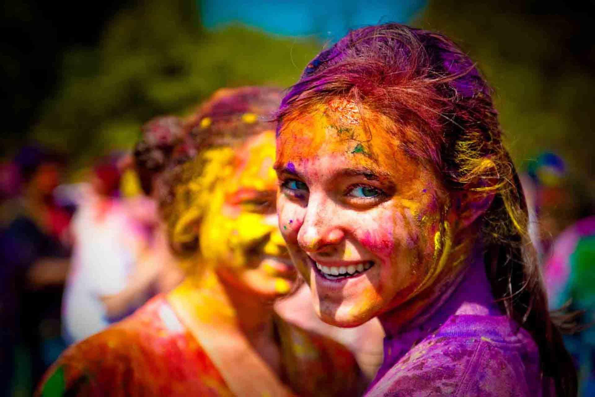 فستیوال رنگ در هند
