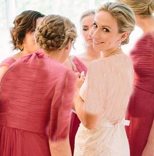 لباس عروسمون رو یادگاری نگه داریم