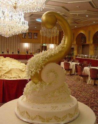 عجیب ترین و جالب ترین کیک های عروسی