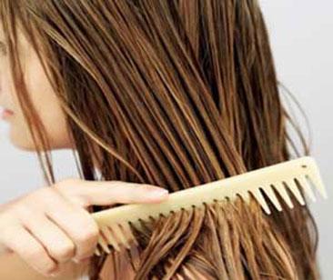 رهایی از موهای چرب