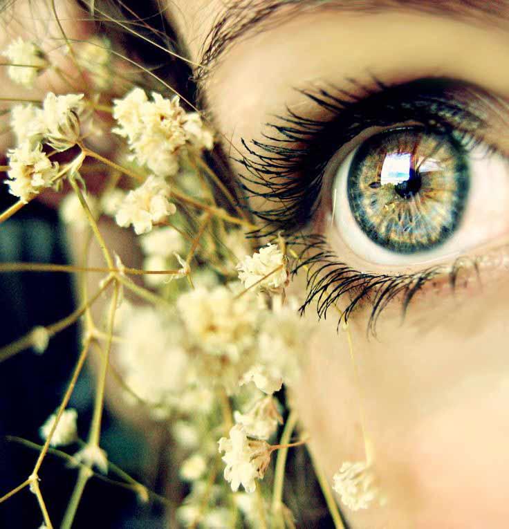 چشم سبز چه رنگ یا چشم آبی چه رنگ سایه استفاده کنه؟؟