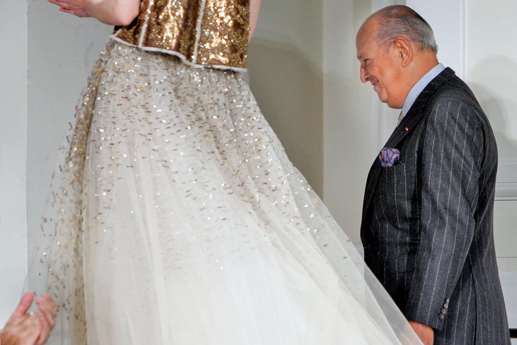 طراح معروف و نامدار ،اسکار دلارنتا درگذشت