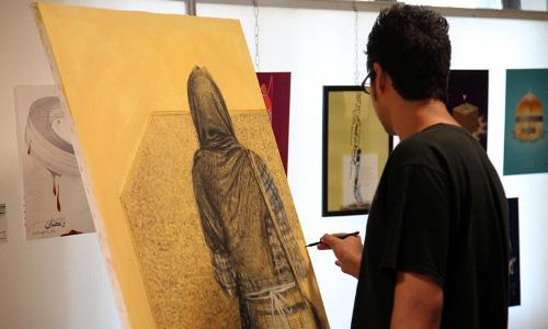 بیست و یکمین جشنواره هنرهای تجسمی جوانان گلستان