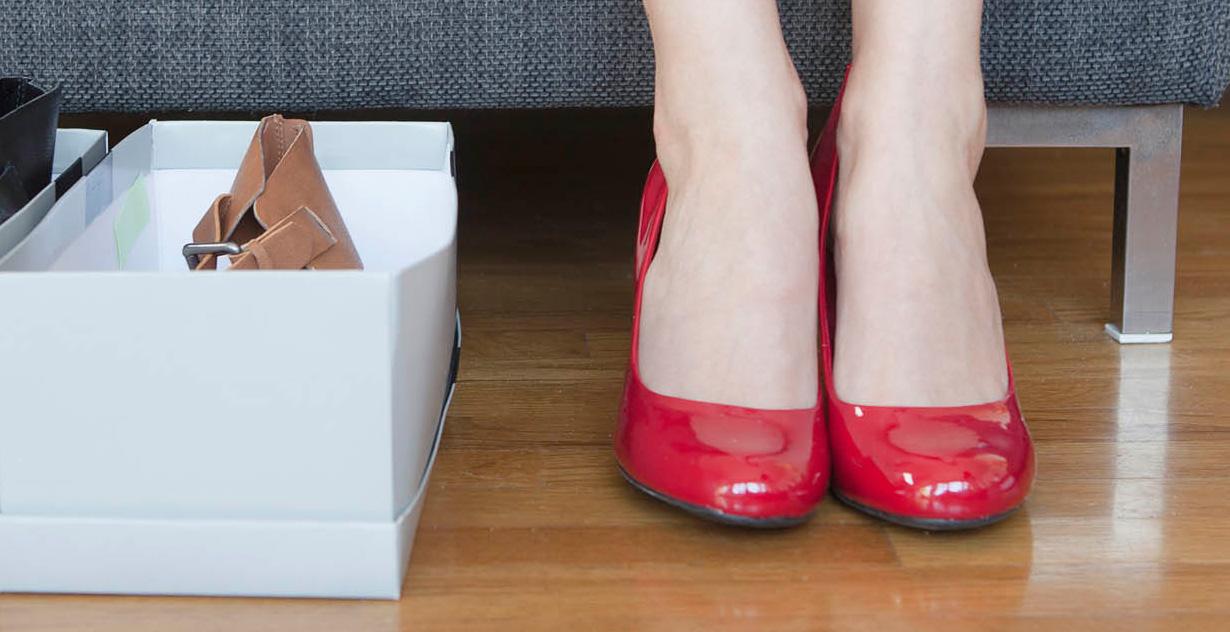 آیا اقایون دوست دارند همسرشون کفش پاشنه بلند بپوشه یا نه ؟