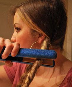 راهنمای فر کردن مو در خانه