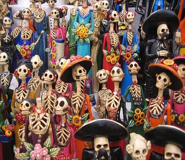 جشن اما اینبار از نوع مردگان در مکزیک
