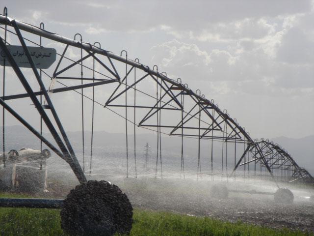 محاسبات طراحی شبکه های آبیاری
