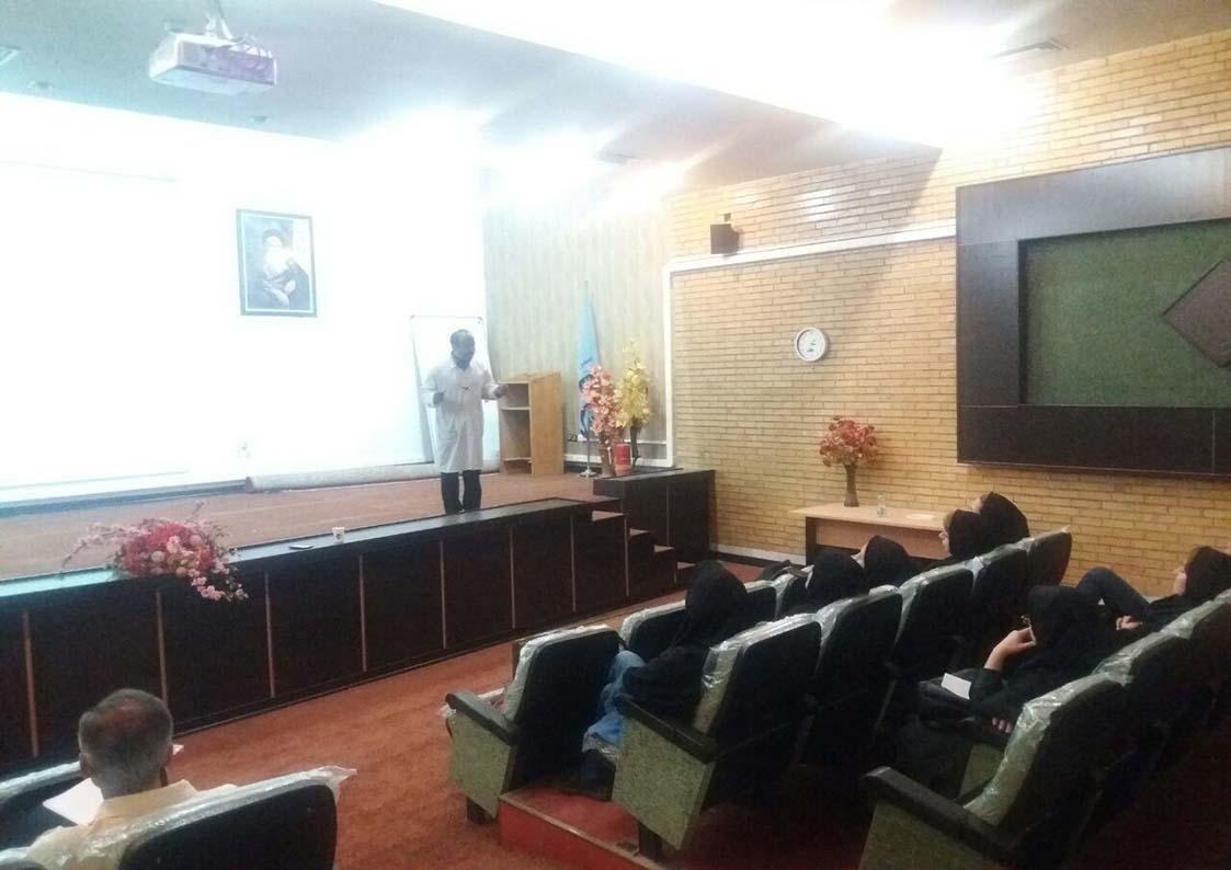 کلاس آموزشی در بیمارستان تامین اجتماعی شهریار