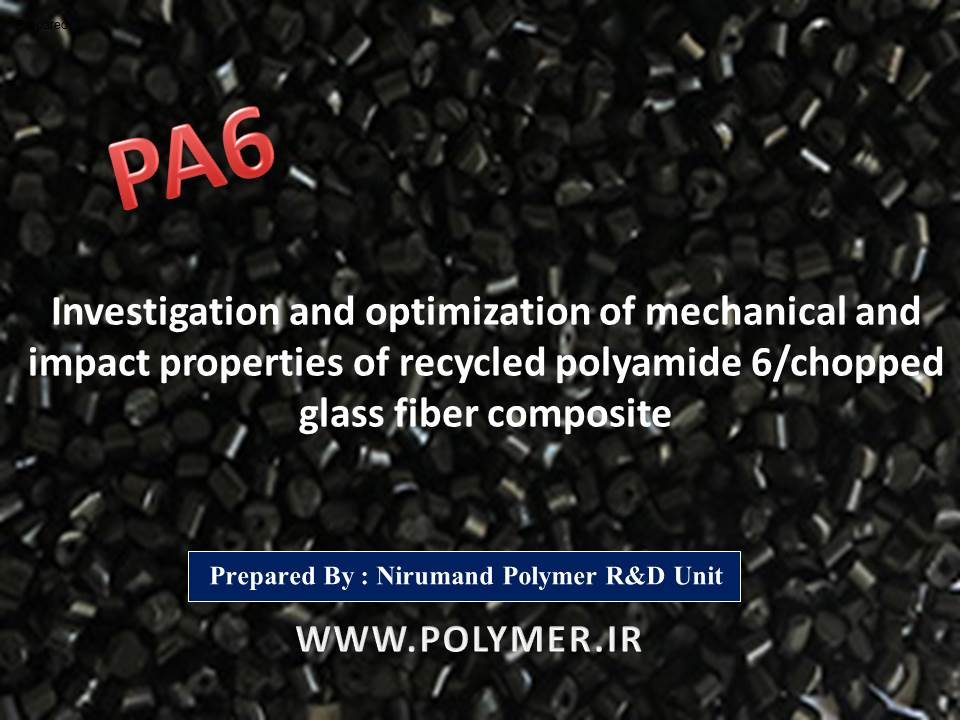 polyamide 6/chopped glass fiber composite