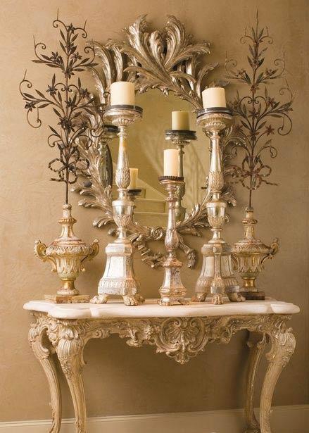 آینه شمعدان 4