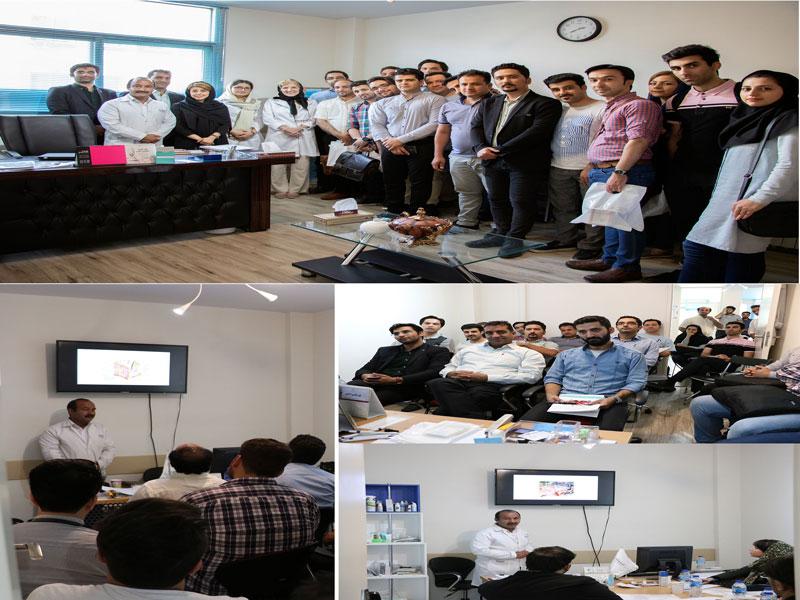 جلسه آموزشی در دفتر مرکزی شرکت کیتوتک