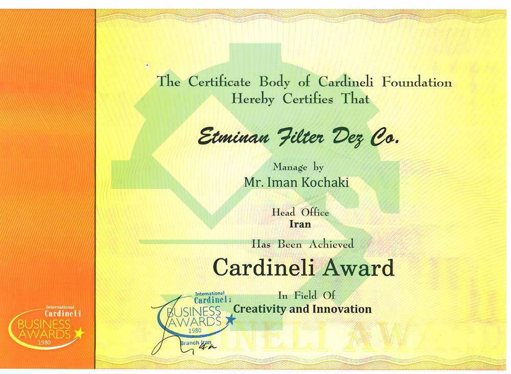 Cardineli-award