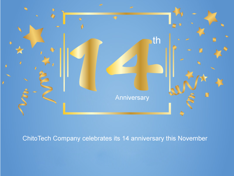 The 14th anniversary of ChitoTech company