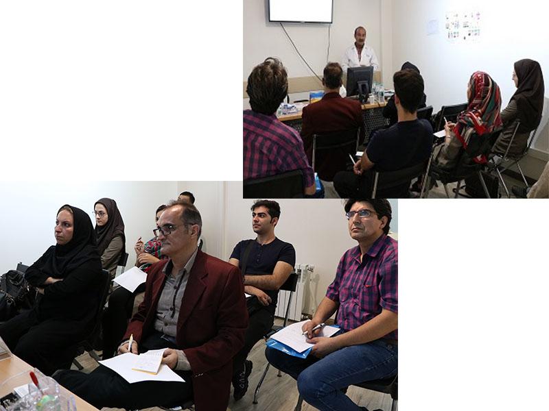 برگزاری جلسه آموزشی در دفتر مرکزی-مرداد ماه97