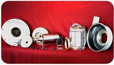 الکتروپمپ های از هم جداشده شامل فلنچ استیل رتور،اس