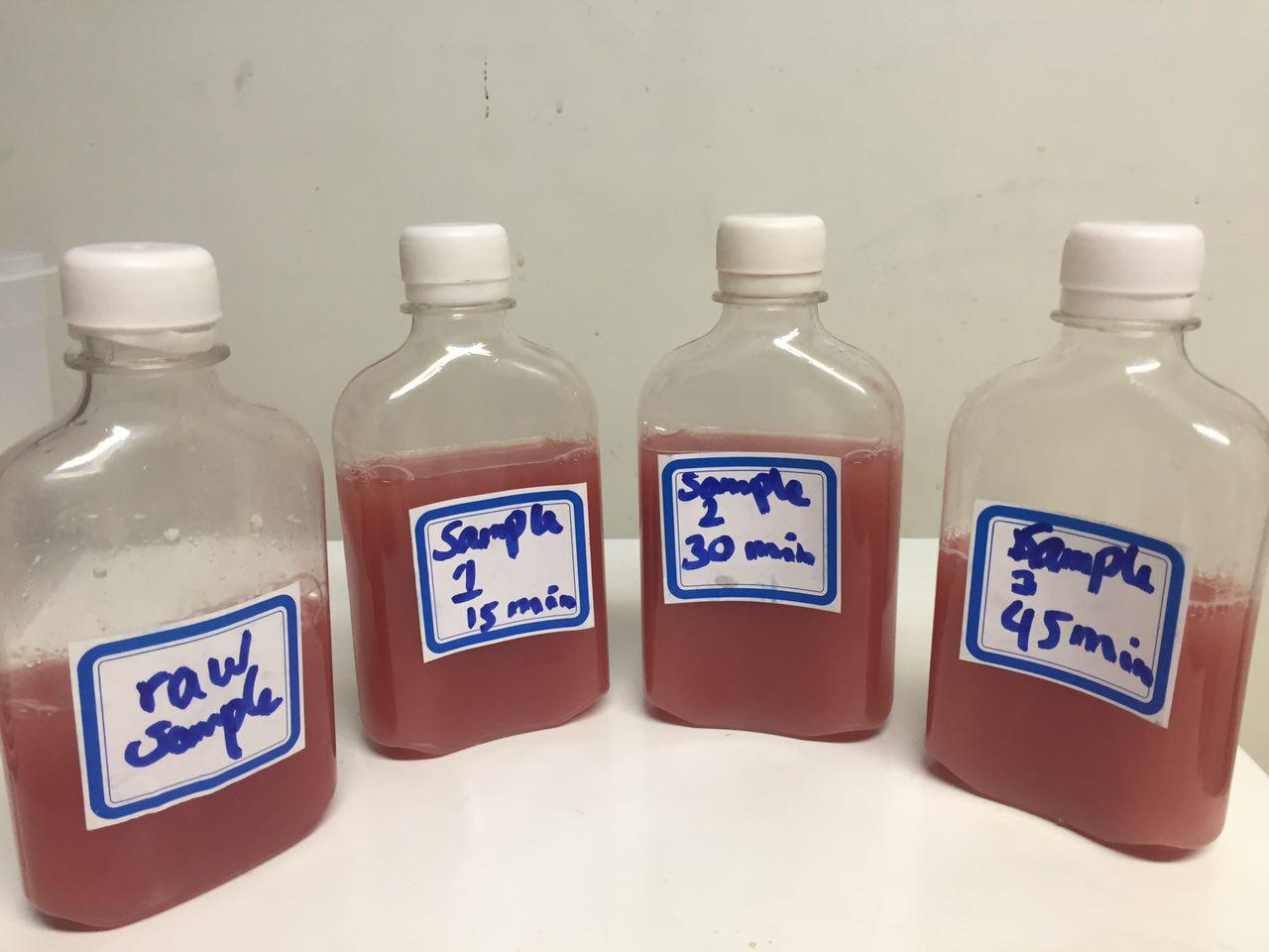 Watermelon non-thermal pasteurization