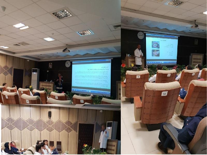 برگزاری جلسه آموزشی در یکی از بیمارستان های تهران