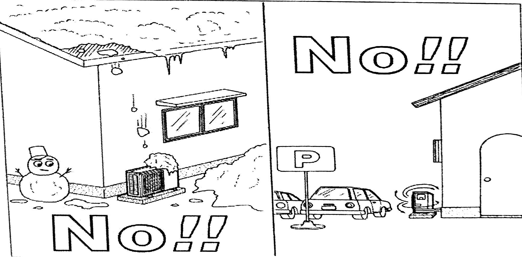 نصب استاندارد کولر گازی