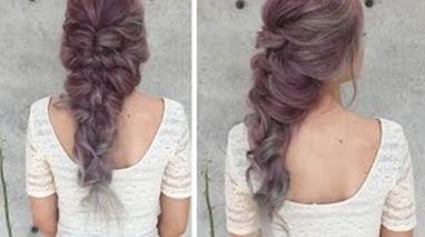 آموزش بافت موی پری دریایی
