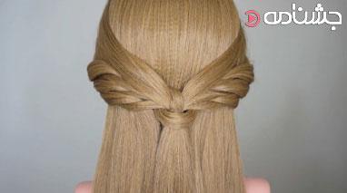 بافت مو به شکل گرد