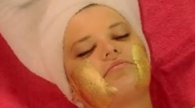 روشهای مراقبت از پوست با ورقه های طلا