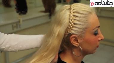 آموزش بافت مو به شکل تل
