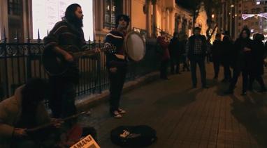 اجرای زیبای خیابانی گروه آمانژ