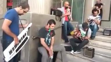 موسیقی خیابانی در تهران