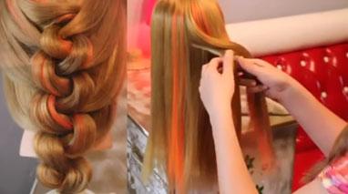 آموزش بافت مو خیلی ساده و زیبا