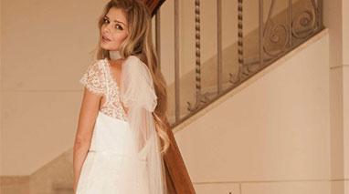 مدل لباس عروس اروپایی ساده 2015
