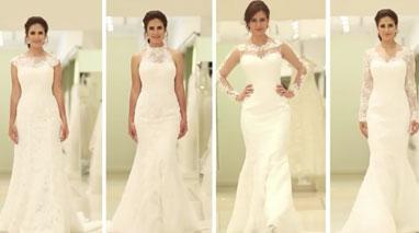 با توجه به فرم اندام خود لباس عروس بپوشید!!
