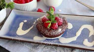 آموزش پخت کیک شکلاتی